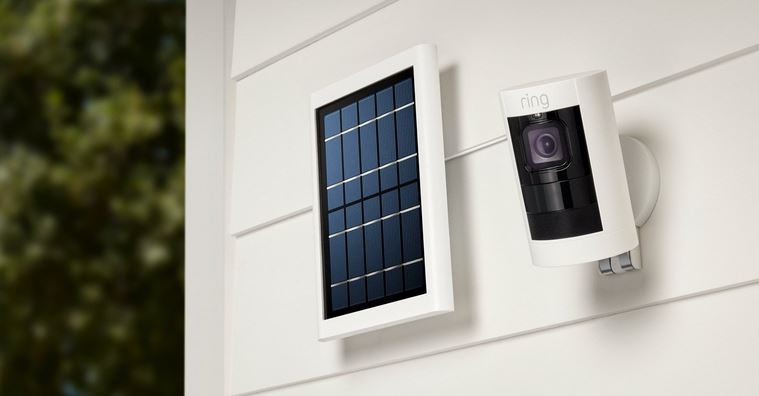 Wi-fi Cameras with a solar panel