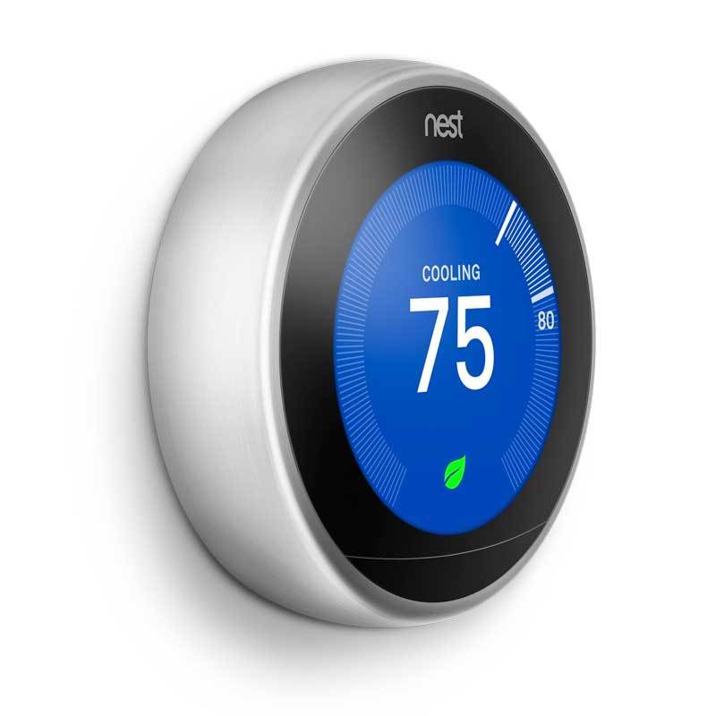 Nest Learning Thermostat for Home Security